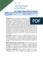 Modelo de Mercado Eléctrico de Perú