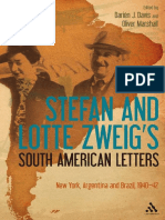 Stefan and Lotte Zweigs South American Letters