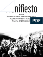 Manifiesto de La Cuarta Internacional