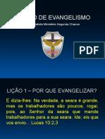 Curso de Evangelismo - Aula 01