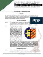 1 2005 XU CSG Constitution