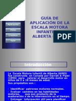 Escala Motora Infantil Alberta.pps