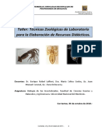 Técnicas Zoologicas de Laboratorio