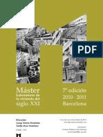 master laboratorio de la vivienda del siglo XXI curso 2010_2011