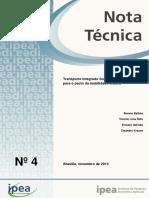 IPEA Nota Tecnica TPU