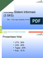 1-KSI-Computer Based Information System (CBIS)