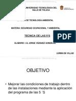 Curso Tecnica 5s Principos Tecnicas Trabajo Taller Clasificacion Organizacion Limpieza Estandarizar Disciplina