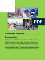 Air Pollution Health Discussion Paper