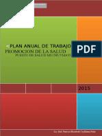 Plan Anual Promsa 2015 p.s. Muchuymayo