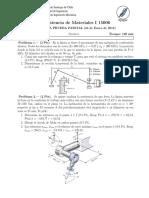 PEP 2 - Resistencia de Materiales (2011-2)