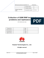 Collection of GSM RNP Technical Problems and Replies