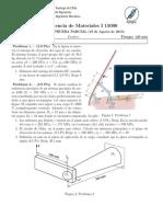 PEP 2 - Resistencia de Materiales (2013)