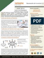 FlexiCadastre Whats New V5.2 French