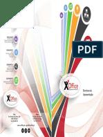 Catálogo  de apresentação X-Office 2016