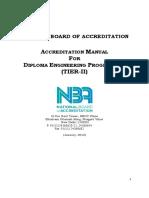 Diploma_Tier II - Manual