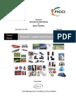 Sportech - Current & Future Scenario in India, FIICI & Ministry of Textiles Seminar, Dec 2010.pdf