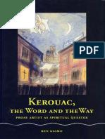 Kerouac the Spiritual Artist