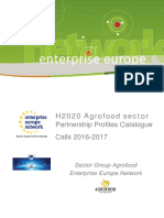 H2020 Agriculture Catalog