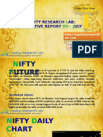 Equity Research Lab 5th July Derivative Report