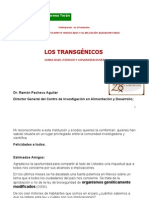 CONFERENCIA DIP. SAMUEL MORENO EN EL CIAD - TRANSGÉNICOS