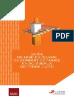 Guide de Mise en Oeuvre de Conduite de Fumeee en Boisseaux de Terre Cuite CAPEB FFTB CTMNC Sept 2014