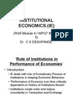 INSTITUTIONAL ECONOMICS (IE).ppt