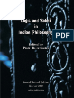 Logic and Belief in Indian Philosophy 2016