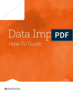 Databricks How to Data Import