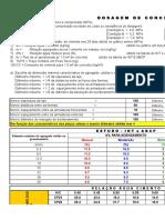 Traço Estaca Helice Continua Fck 20 MPa Teste