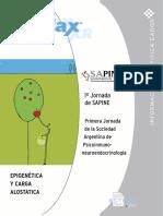 Epigenética y Carga Alostática