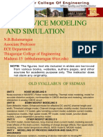Solid state device modeling 1