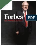 Forbes on Warren Buffett