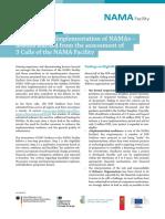 Factsheet - Lessons Learned 2015 - NAMA Facility