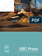 UBC Press Fall/Winter 2010 Trade catalogue