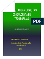 Coagulopatias e Trombofilias