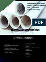 Aisladores elastomericos