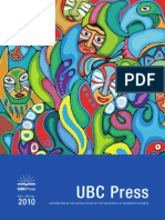 UBC Press Fall/Winter 2010 Scholarly catalogue