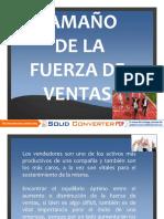 13 Tamaño y Estructura de La Fza. de Vtas.