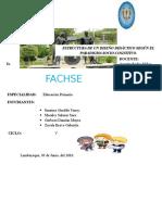 Estructura de Un Diseño Didáctico