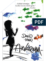 David Vann Akvárium