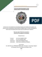 Estudio de Los Elementos de Seguridad Pasiva