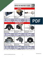 Catalogo Soportes de Motor y Caja