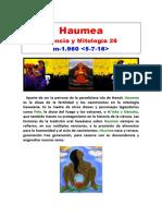 (26) Ciencia y Mitología - Haumea