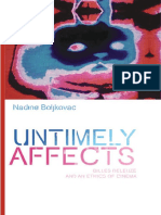 (Plateaus - New Directions in Deleuze Studies) Nadine Boljkovac-Untimely Affects_ Gilles Deleuze and an Ethics of Cinema-Edinbur