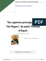 De Regimine Principum Ou de Regno de Saint Thomas d Aquin a9
