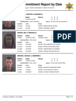 Peoria County Jail Booking Sheet for July 4, 2016