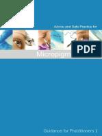 Micropigmentation - Guidance