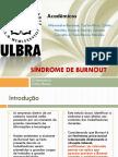 Síndrome de Burnout Ulbra % periodo