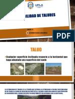 10° SEMANA - ESTABILIDAD DE TALUDES - PROBLEMAS