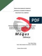 Proyecto Mogus Deliverys